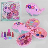 Игровой набор декоративной детской гипоаллергенной косметики для девочки в шкатулке 10394 А (3 яруса)