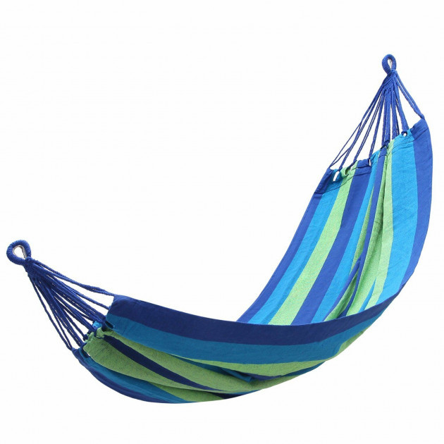 ОПТ Гамак гавайский Оранжевый тканевый подвесной(Синий)