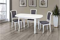 Стол обеденный Турин белый