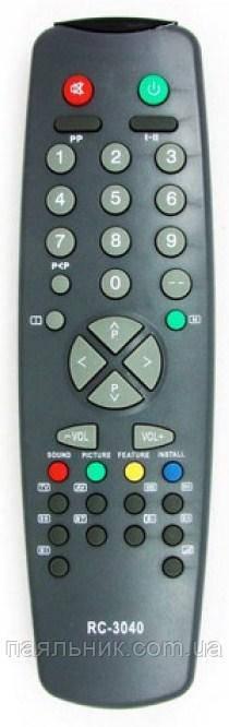 Пульт для телевізора VESTEL,RAINFORD RC3040