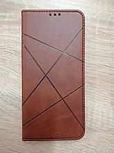 Чохол-книжка Samsung A02S Business Brown