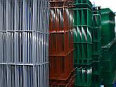 Парканна секція ELIT 820ммх2500мм Оцинкований дріт 4/4 мм + кольорове полімерне покриття RAL, фото 2
