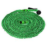Шланг для полива X HOSE 45 м + раcпылитель Зеленый