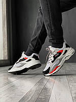 Мужские кроссовки Fila Ray Tracer Белые Кожа, Реплика, фото 1