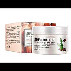 Скраб для тела BIOAQUA Body Scrub Shea Butter с маслом Ши 120 г