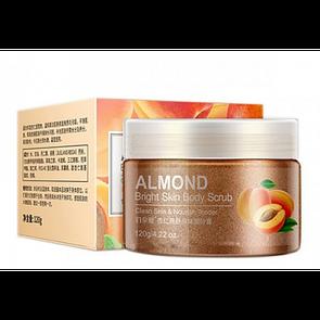 Скраб для тіла BIOAQUA Body Scrub Almond на основі мигдалю 120 г