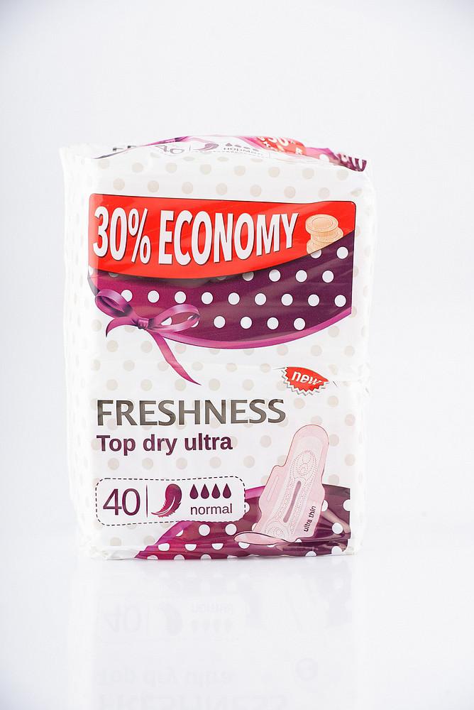 0719 Прокладки FRESHNESS (DRY) ultra silk /40/ Normal