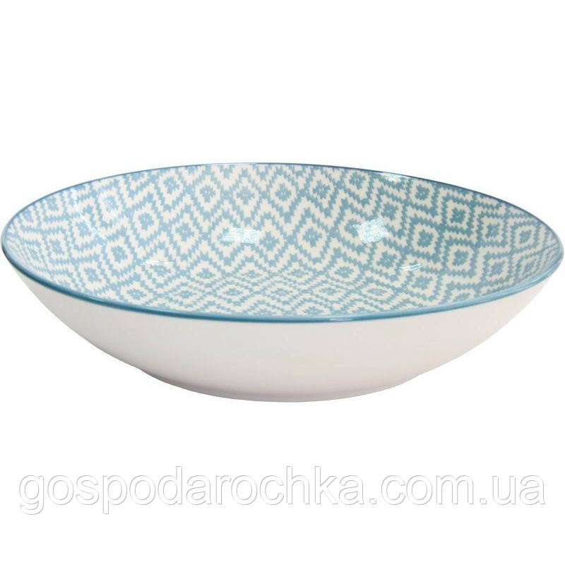 Суповая тарелка Milika Thai Silk Skiey 20 см (M0440-26-SP4)