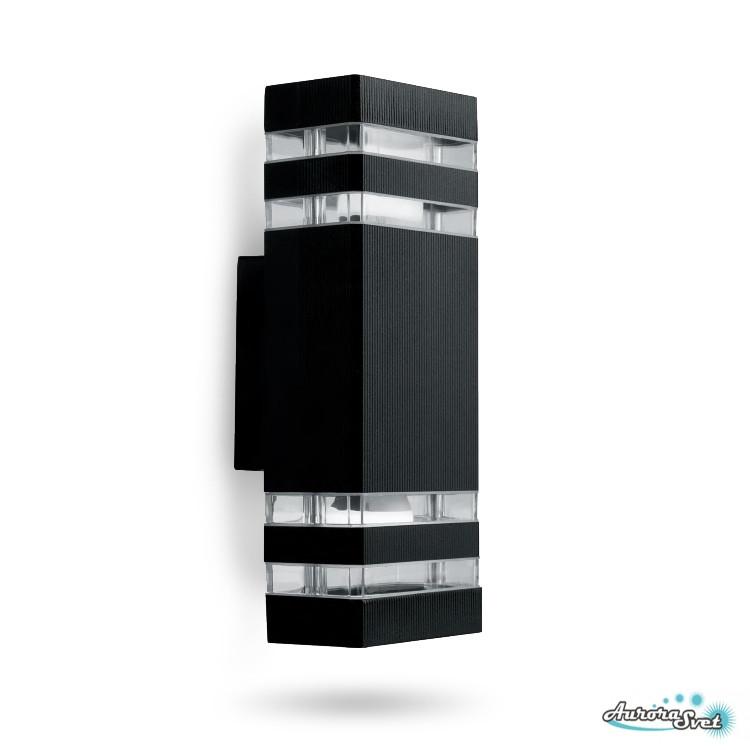 Архитектурный светильник SDH0807 черный LED освещение.