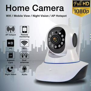 Беспроводная камера видеонаблюдения WiFi  с записью 360 градусов панорамная  сетевая IP-камера