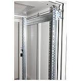 Шкаф напольный  42U-600X600 стекло, серый, ZT-NET, фото 2