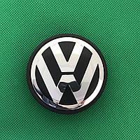 Колпачки заглушки на литые диски VW Volkswagen/ Фольксваген, 3B7 601 171 ,65/56/12 мм.