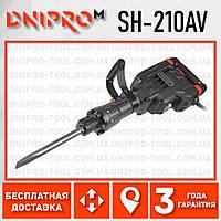 Отбойный молоток электрический Dnipro-M SH-210AV
