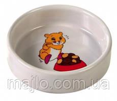 Миска керамическая для хомяка Trixie 100 мл 6062 (4011905060620)