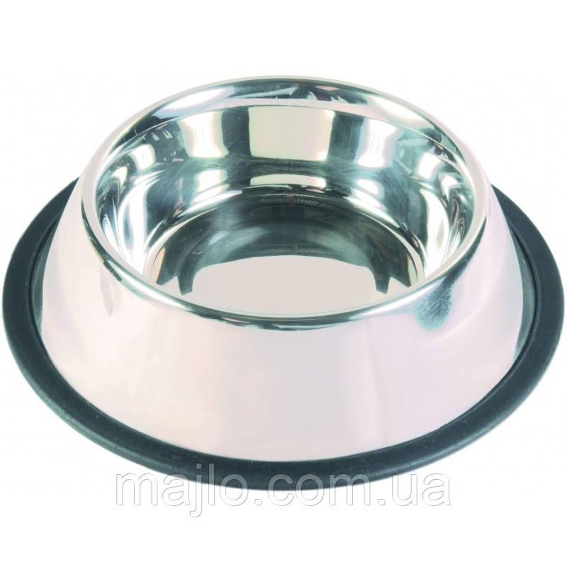 Миска металлическая для собак Trixie  0,9 л/23 см   24853