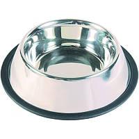 Металева Миска для собак Trixie 0,9 л/23 см 24853