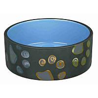 """Посуд для тварин Trixie¶Миска керамічна """"Jimmy"""" для собак Trixie 1,5 л х 20см (TX-24776)"""