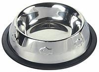 Миска металлическая для кошек Trixie 200 мл (4011905248707)