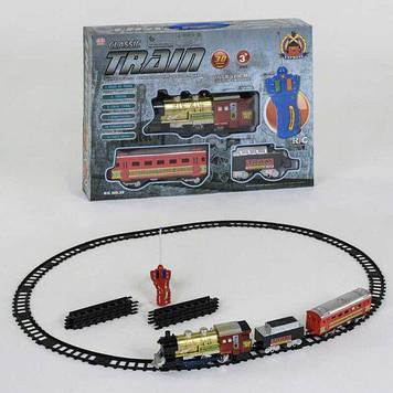 Радиоуправляемая детская железная дорога со световыми и звуковыми эффектами Детская железная дорога