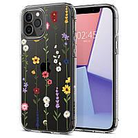 Чохол Spigen для iPhone 12 Pro Max - Ciel, Flower Garden (ACS01644)