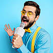 Мікрофон караоке HOCO Cantando karaoke microphone BK5 BT5.0,, фото 4