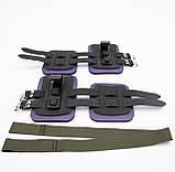 Гравитационные ботинки (инверсионные крюки для турника) тренажер для спины и пресса OSPORT Lite Plus (OF-0011), фото 2