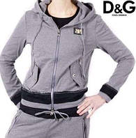 Костюм спортивный Dolce&Gabbana серый