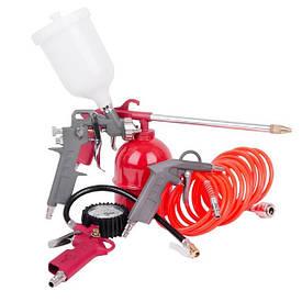 Наборы пневматического инструмента для компрессора и аксессуаров для компрессора +