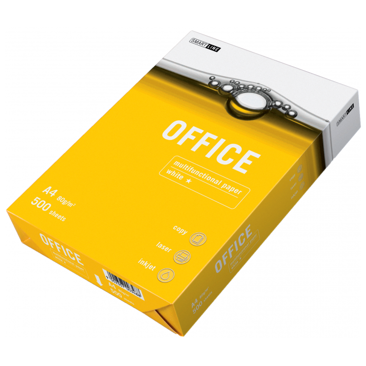 Бумага А4 Smart Line Euro Office 500 л.