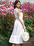Летнее платье длиной миди и рукавом крылышко, фото 3