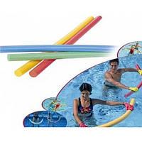 Аквапалка (нудлс) для плавання та аквааеробіки OSPORT AQUA Ф50 (FI-0022)