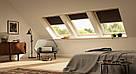 Мансардное окно GGL 2066, ручка сверху, дерево/біле покриття, фото 7