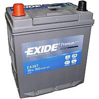 Аккумулятор 38Ah-12v Exide PREMIUM ea 387 (187х127х220),L,EN300,Азия