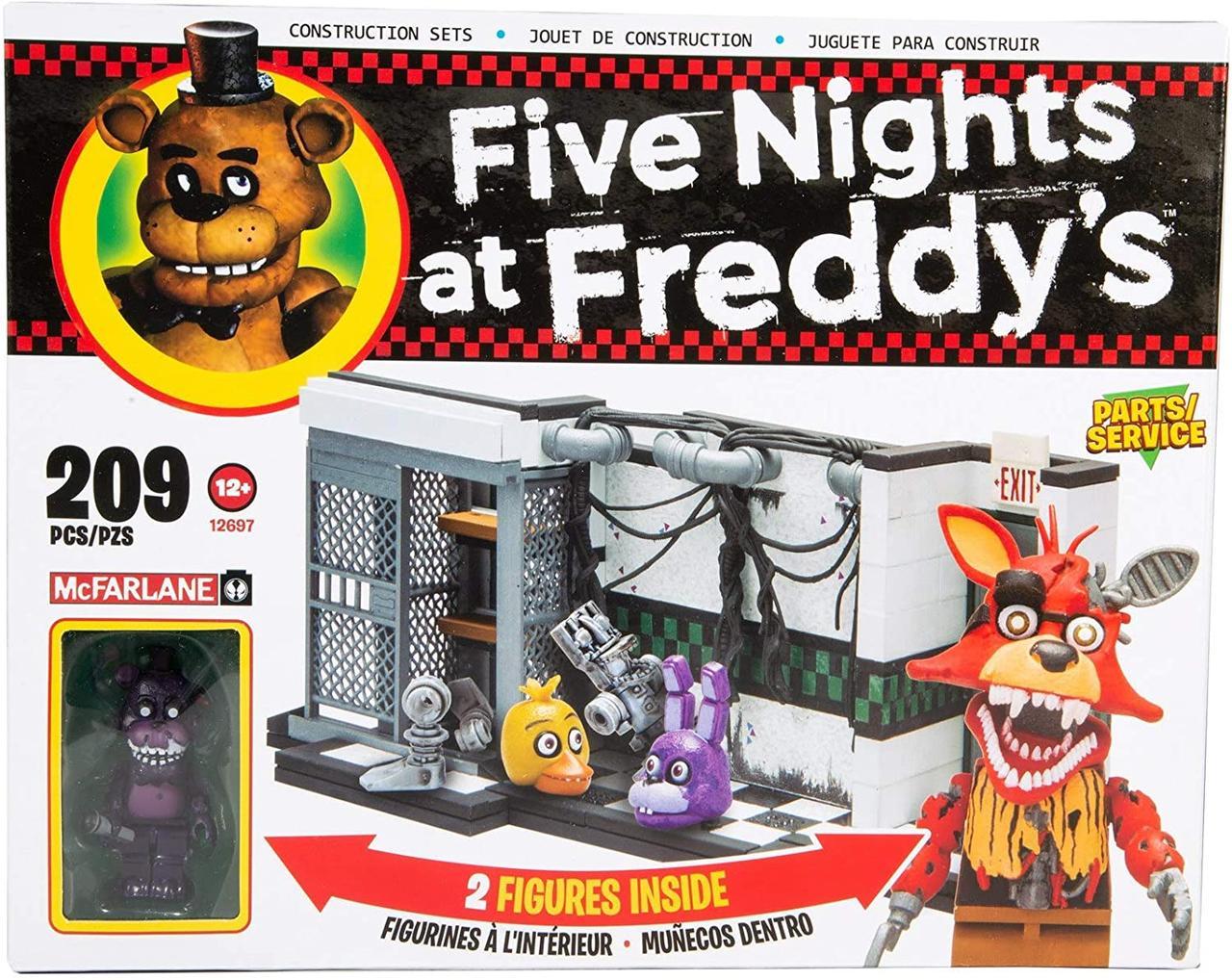 Конструктор 5 ночей с Фредди McFarlane Toys Five Nights at Freddy's Parts & Service Construction Set
