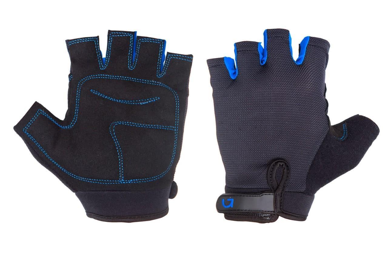Перчатки Green Cycle Simpla CLO-04-79 без пальцев р.M чёрно-синие