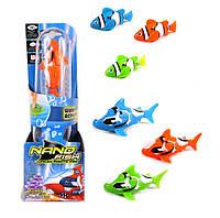 Робо Рыбки Рыбка Робот Robo Fish  Nano Fish Акулы и Немо