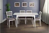 Стол обеденный Фиеста белый