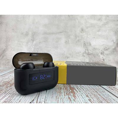 Наушники Bluetooth Realme Air F9 Pro TWS с кейсом Powerbank Черный