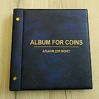 Альбом для монет(( 23х22 на 240монет, фото 1