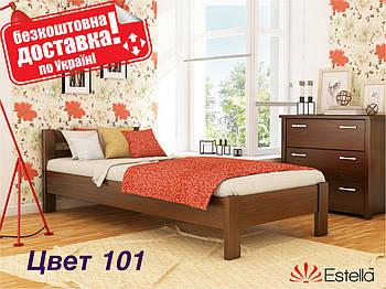 Кровать односпальная деревянная Рената Бук Щит