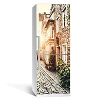 Интерьерная виниловая наклейка на холодильник Прованс (пленка самоклеющаяся фотопечать)