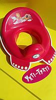 Накладка на унитаз Tega Little Princess, розовый, Накладка-сидение на унитаз LP-002-123, фото 1