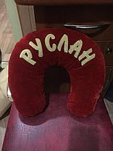 Підголівник Рогалик автомобільний подушка з логотипом