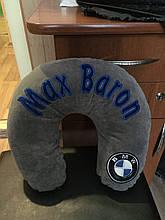 Підголівник автомобільна подушка з логотипом
