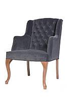 Мягкое кресло VALENCIA RETRO с подлокотниками 64х80х100 см,Польша из ткани и эко-кожи