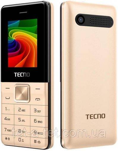 Мобільний телефон Tecno T301 DS Champagne Gold (UA UCRF)