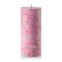 Малина-ваниль свеча цилиндр 70х160мм ароматизированная 1 шт