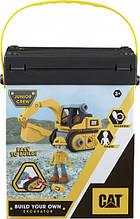 Игрушка-конструктор CAT Build your own Excavator Экскаватор 20 см - Funrise 80903