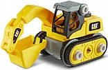 Игрушка-конструктор CAT Build your own Excavator Экскаватор 20 см - Funrise 80903, фото 2