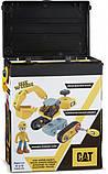 Игрушка-конструктор CAT Build your own Excavator Экскаватор 20 см - Funrise 80903, фото 6